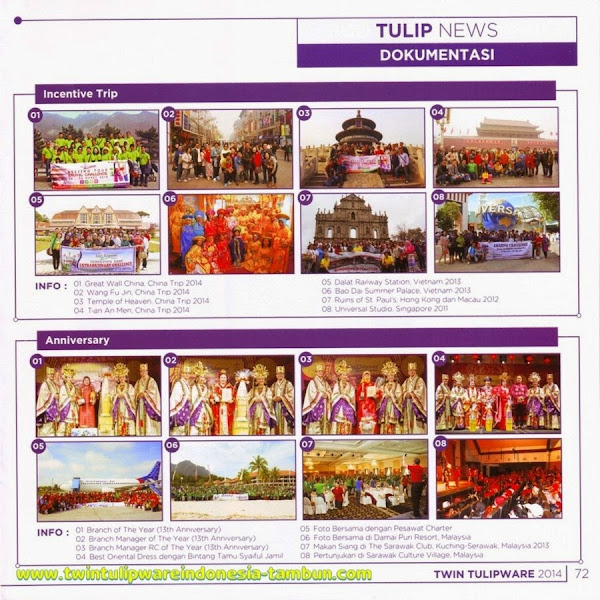 Dokumentasi, NMC, National Manager Conference, Special Event, Katalog Tulipware 2014