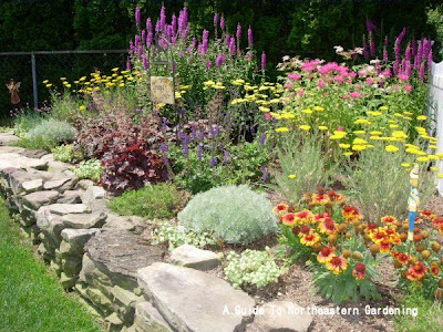 Perennial Garden Design on Cottage Garden