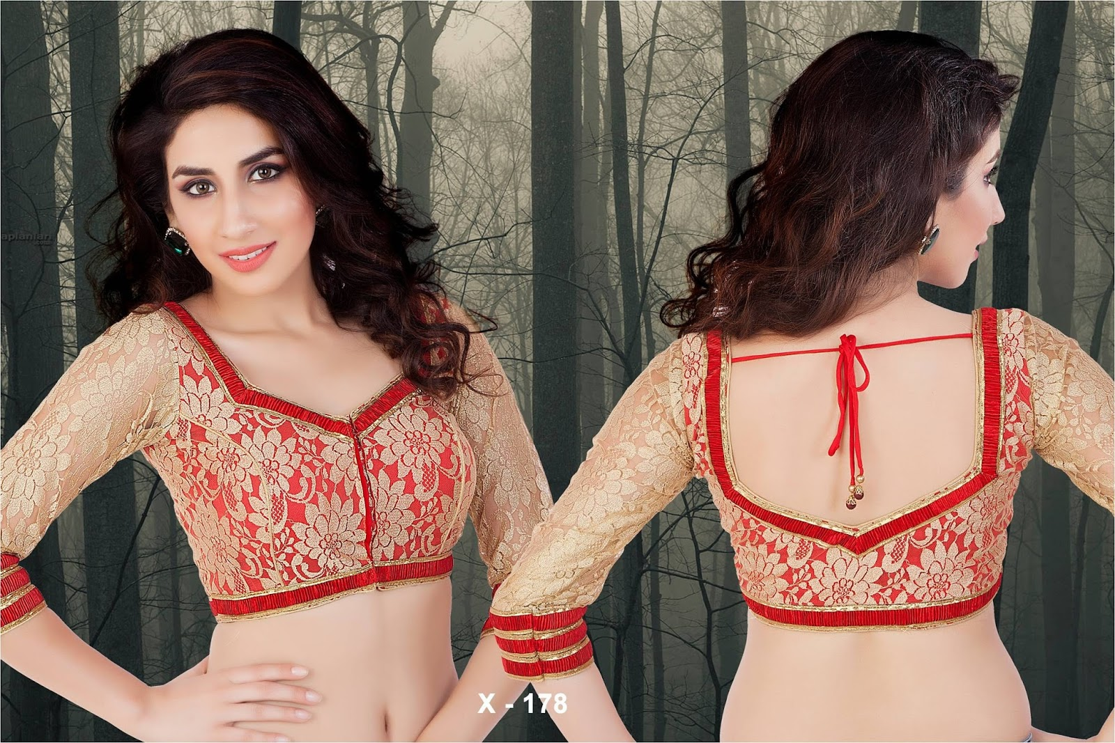 The Lacy Affair | The Luxurious Lace Saree Blouse Designs - Saree ...