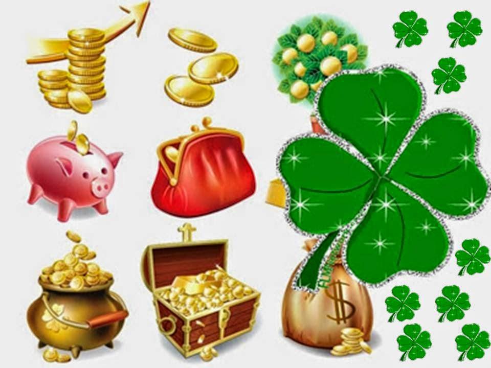 Oraciones para dinero y fortuna talisman tr bol de 4 - Como atraer la suerte ...