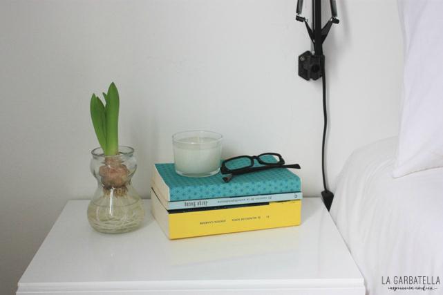 Jacinto libros habitación estilo nórdico
