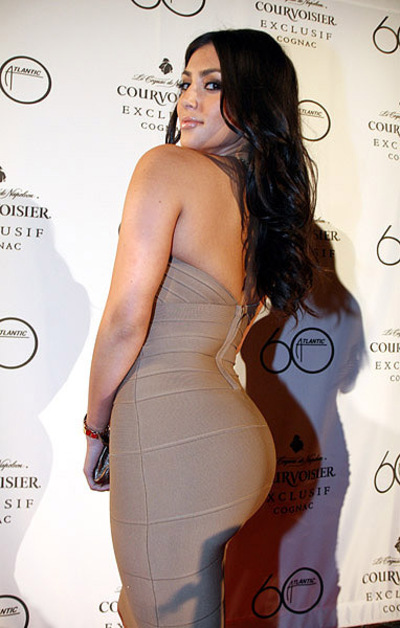 kim kardashian hot butt
