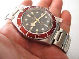SOLD TUDOR BLACK BAY HERITAGE 79220R RED BEZEL - AUTOMATIC