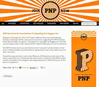 PNP HAS GIVEN NO COMMITMENT TO REPEALING THE BUGGERY ACT