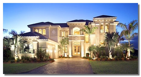 American Dream House on Dream  Most Desirable  Ideal  A Dream Vacation Or A Dream Home  A