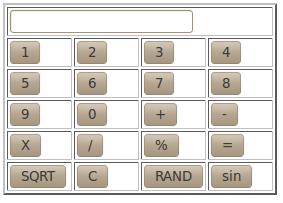 simple calculator in javascript code working example  var disp document getelementbyid n1 value disp eval disp document getelementbyid n1 value disp