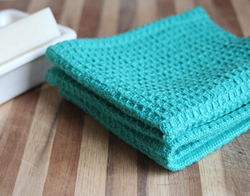 Nutfield Weaver: Waffleweave dishcloth draft for handweavers
