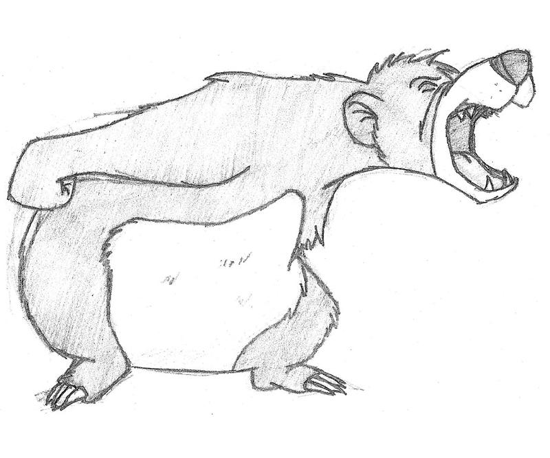 baloo coloring pages - photo#32