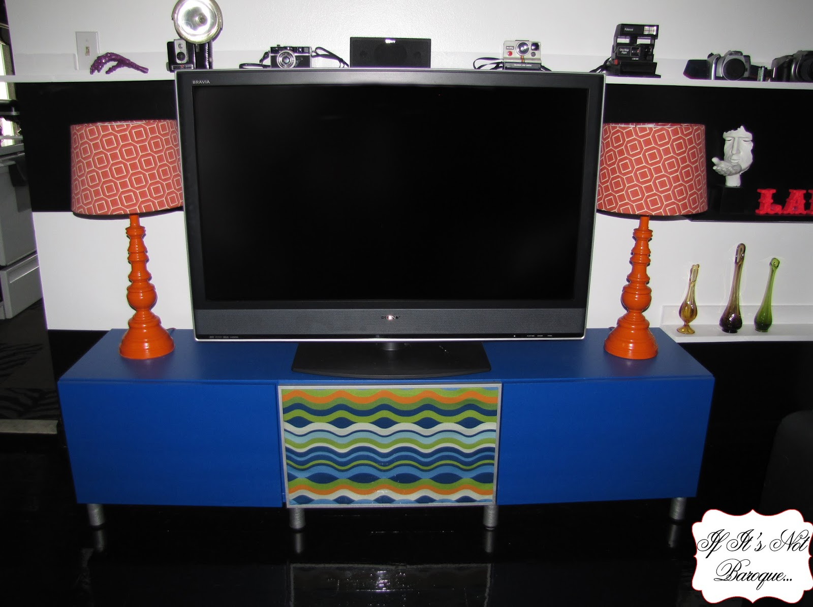 If Its Not Baroque TV Stand Makeover
