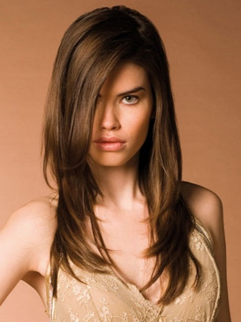 up and down hair styles are common in use long layered
