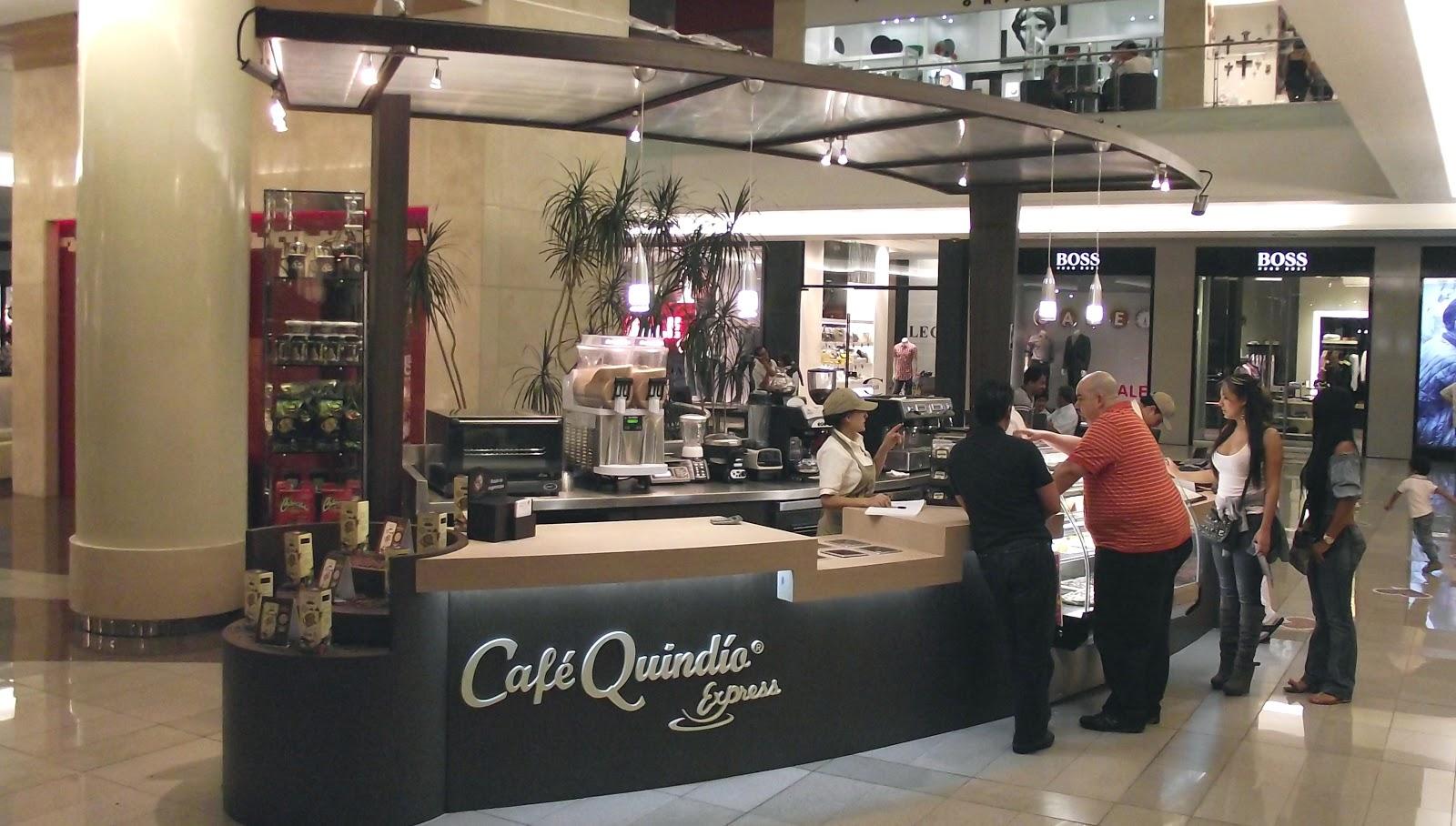 Muebles para locales comerciales cafe quindio c c santa for Muebles para cafeteria economicos