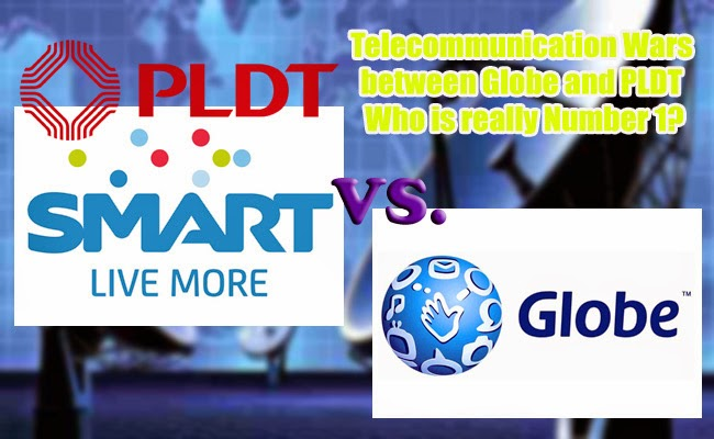 Telecommunication Wars between Globe and PLDT Who is really Number 1?