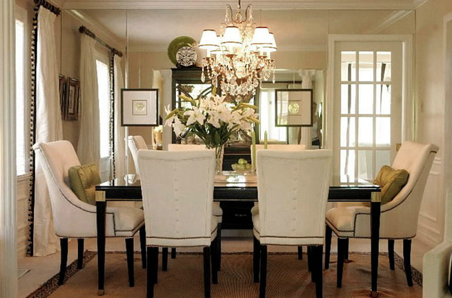 the right height for your chandelier