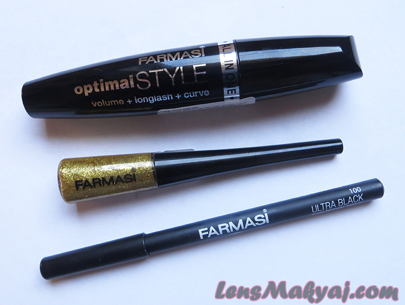 Farmasi Optimal Style Glitter Eyeliner Farmasi Ultra Black