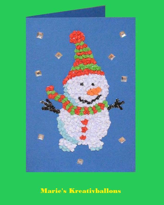 Basteln f r weihnachten weihnachtskarte basteln for Weihnachtskarten mit kindern basteln