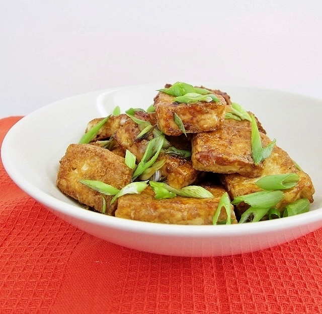 Teriyaki Tofu Steaks from Nomsies Kitchen