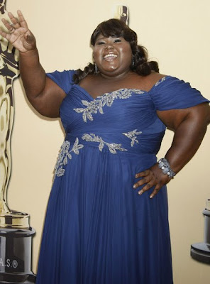 Gabourey Sidibe Sequined Bracelet