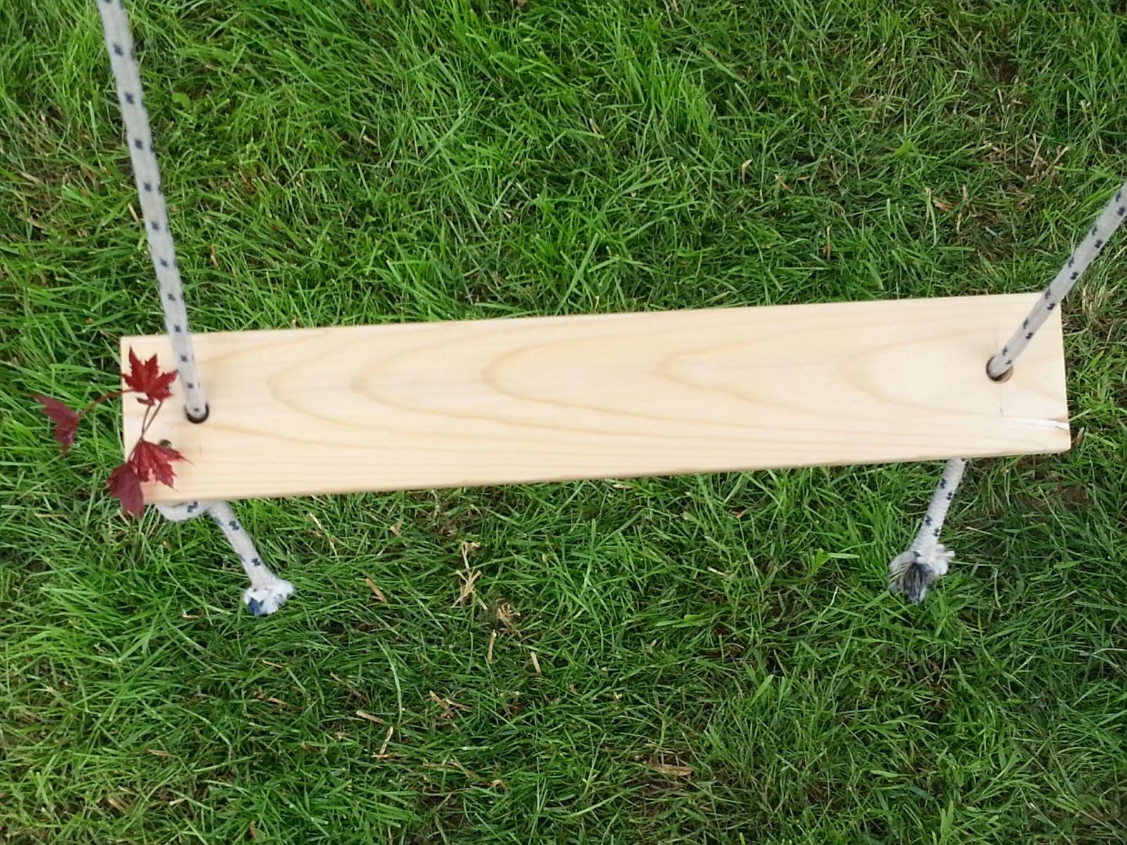 Le idee di pizzipazzi altalena romantica fai da te for Costruire un altalena in legno