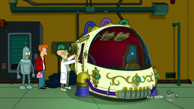 futurama what if machine