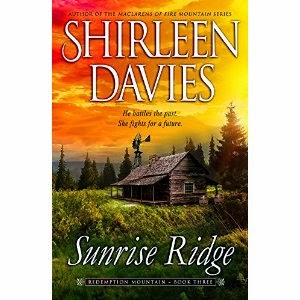 shirleen davies, sunrise ridge, historical western romance, western romance