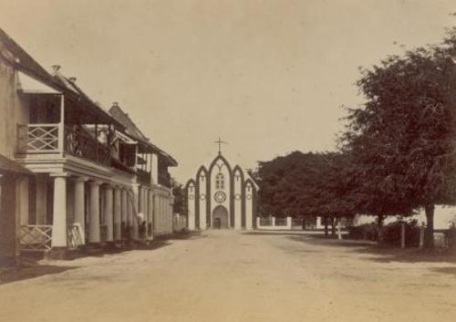 GEREJA KATOLIK DI SURABAYA ABAD 19: Sejarah Gereja Kepanjen Surabaya