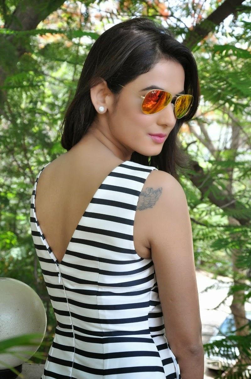sonal chauhan displays her long sexy legs at telugu film pandaga