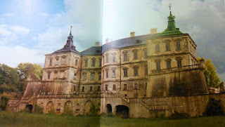 Zamek w Podhorcach - obecnie na terytorium Ukrainy