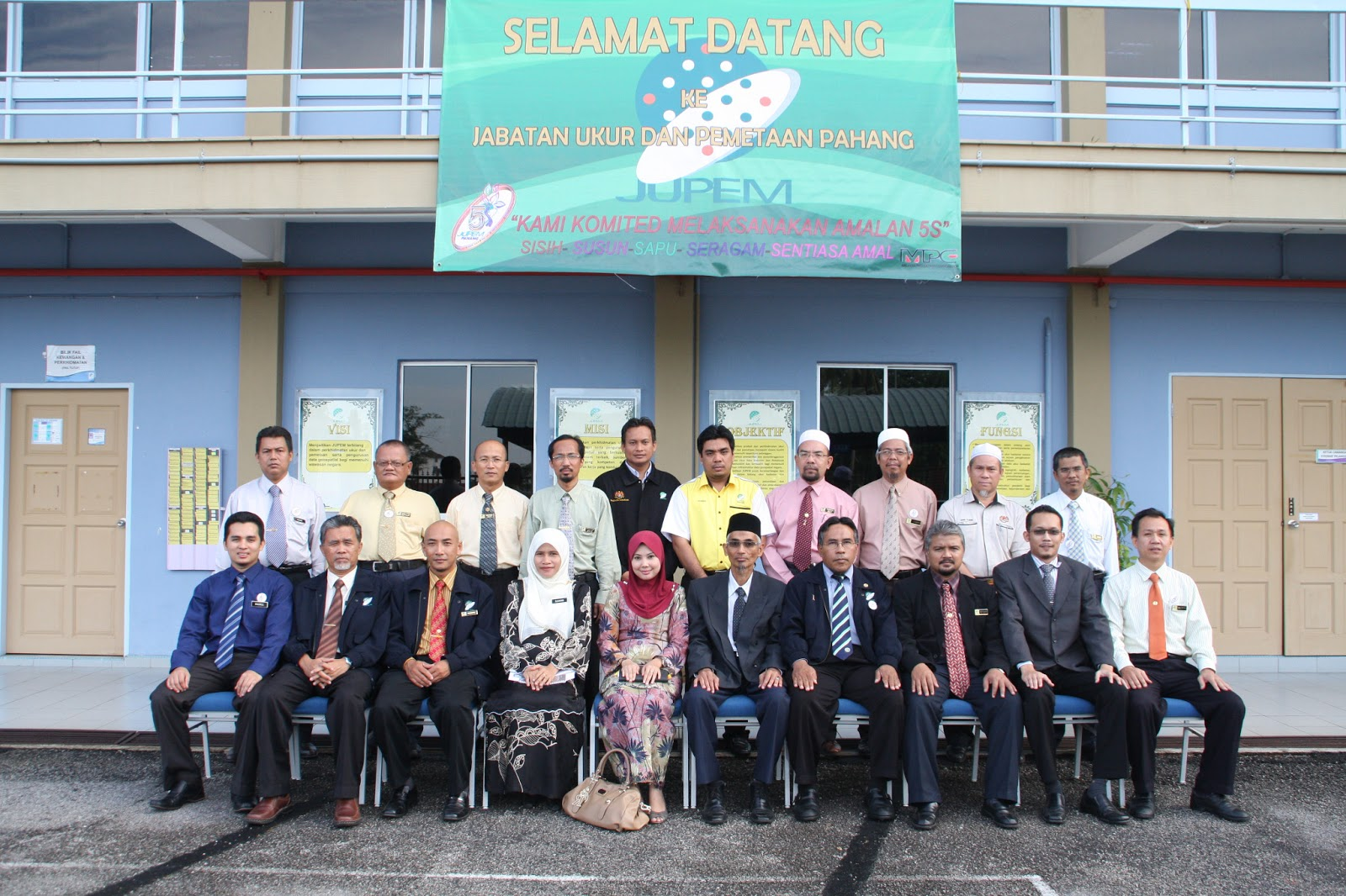 Sudut Qe 5s Jupem Pahang Sekitar Audit Persijilan Semula Persekitaran Berkualiti Qe 5s Jupem Pahang