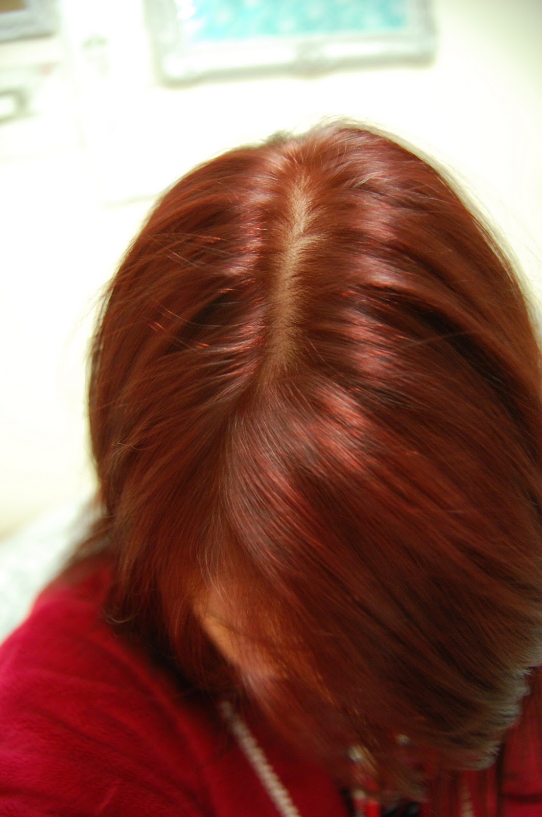 Natural Red Hair Color Chart Really even colour but not