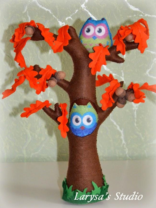 oak-tree felt