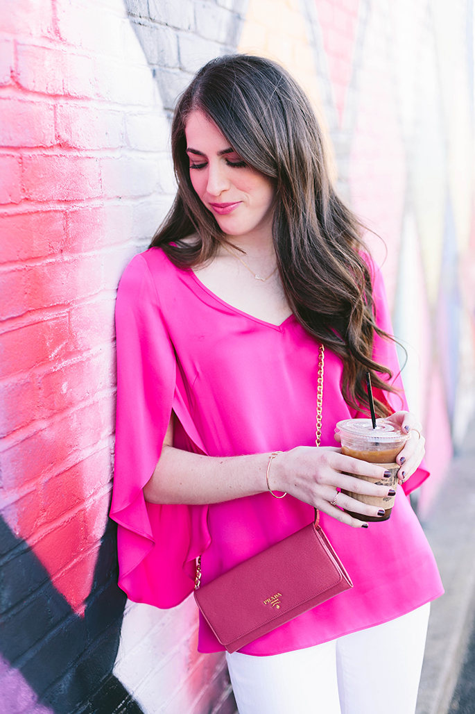 milly-pink-blouse-butterfly-sleeves