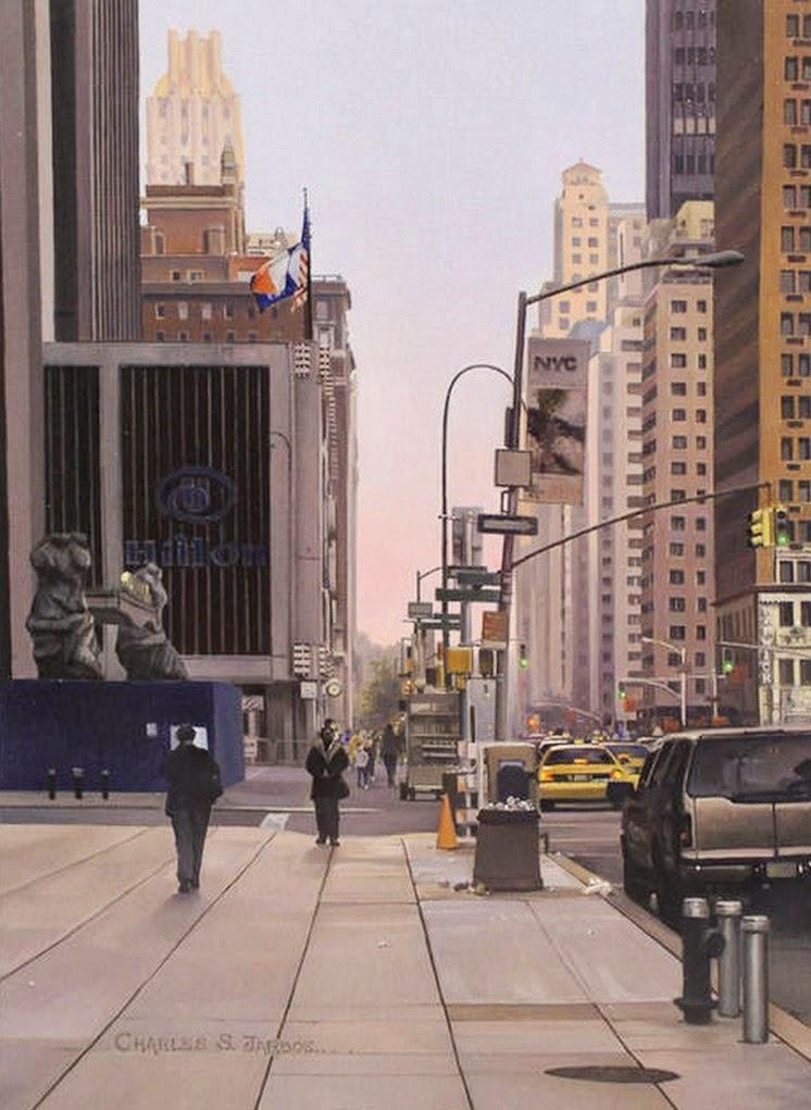 cuadros-ciudades-modernas
