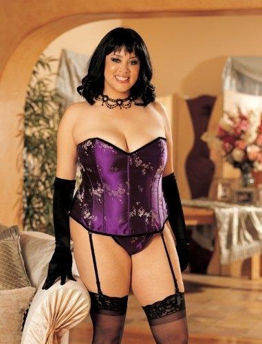 corsets Mature women lingerie