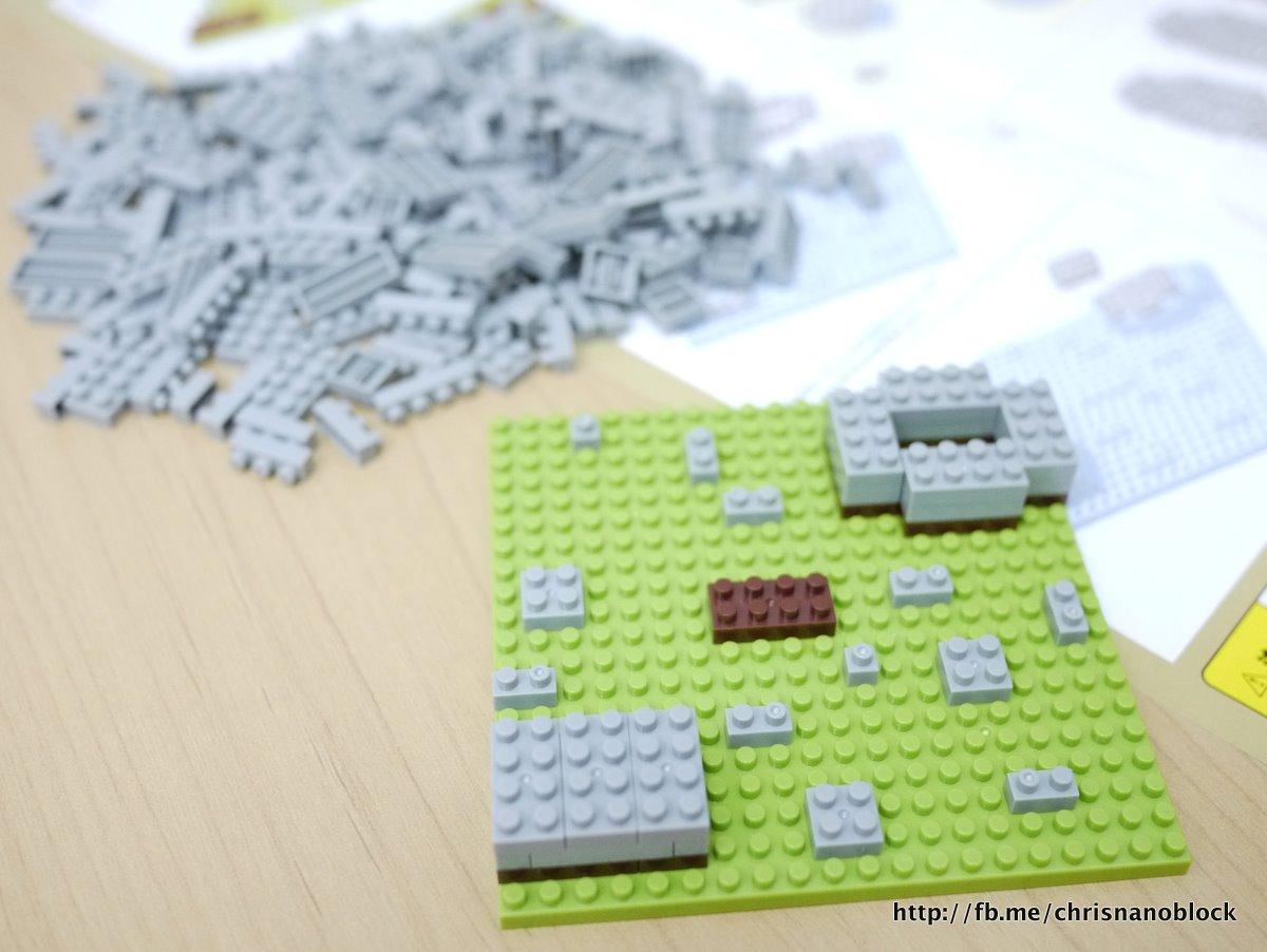 1451 Lego Stein 1x1x5 new Grau 2 Stück