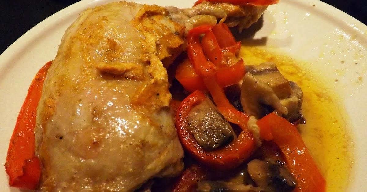 Celle qui cuisinait ou le plaisir de cuisiner cuisses de poulet en cocotte au four - Cuisiner des cuisses de poulet ...