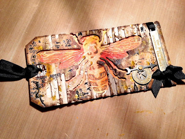 Tim Holtz 12 Tags of 2014 - November
