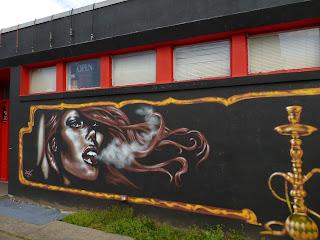Da Spot Hookah Lounge Mural