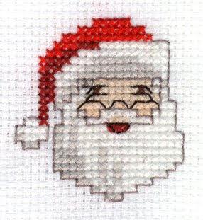 """Santa Claus"" cross stitch pattern"