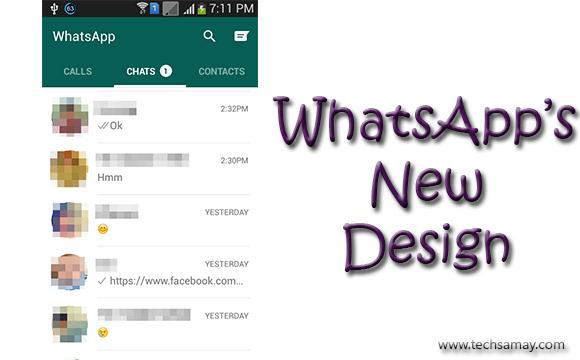 WhatsApp New Design