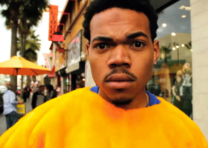 Chance The Rapper Nose Piercing