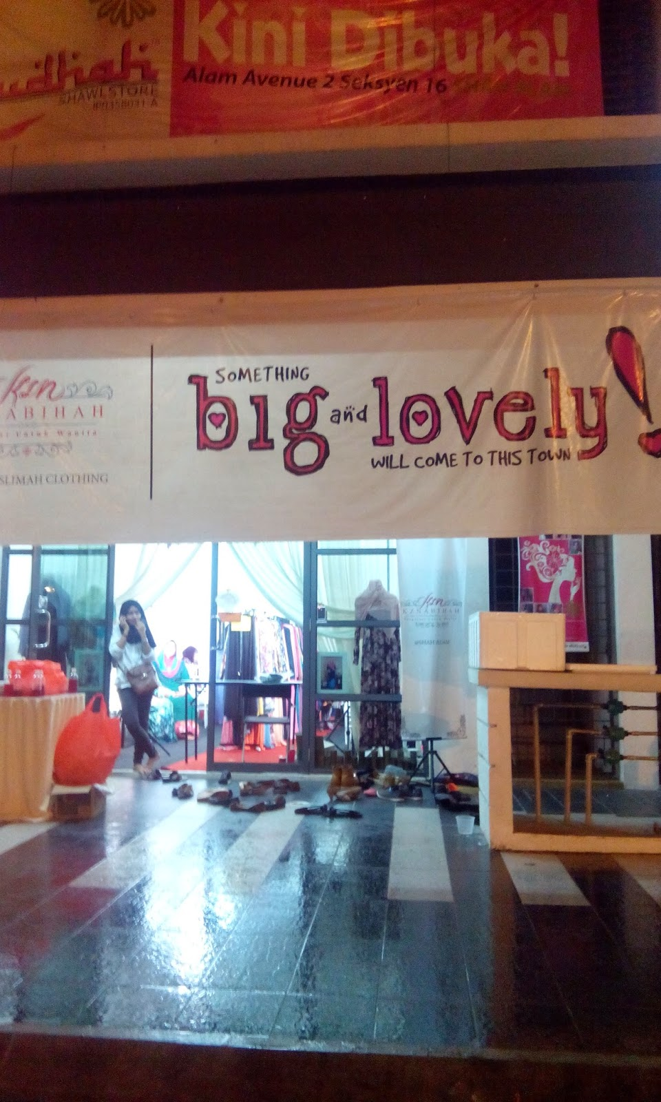 Pelancaran Koleksi Terbaru di KZ Nabihah Boutique Shah Alam