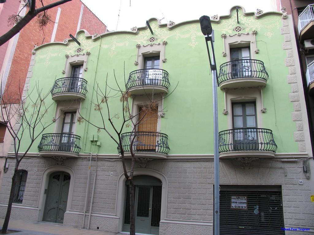Modernisme barcelona gran de sant andreu 31 35 - Casa bloc sant andreu ...