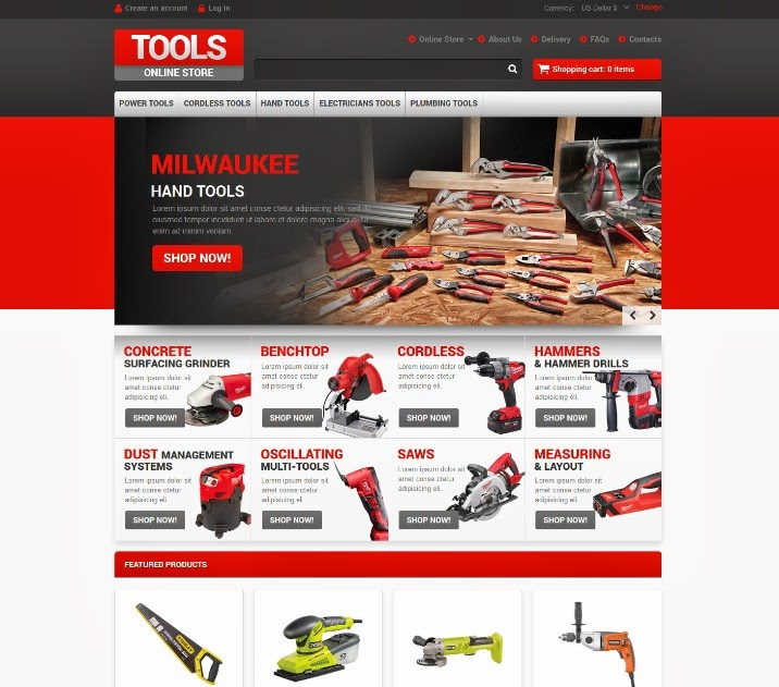 Tools Online Store