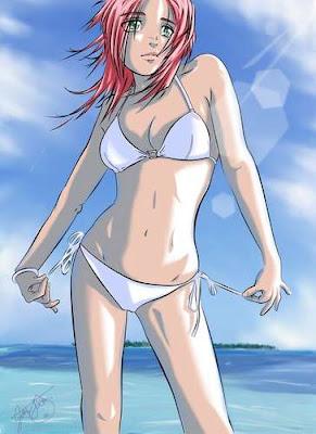 Sexy Sakura Beach