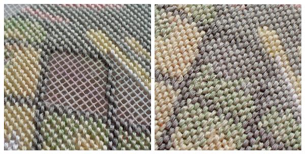"Раритетная вышивка фирмы Dimensions 2472 ""Beary Inspirational"" в технике гобелен/needlepoint"