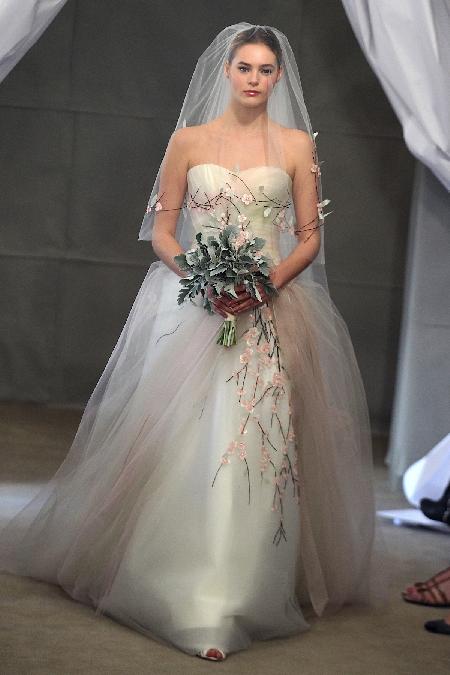 Carolina Herrera 2013-Frühling/Sommer Brautkleid Moden
