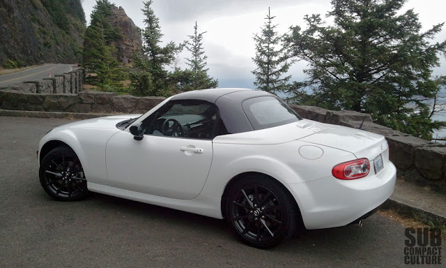 2012 Mazda MX-5 Miata at the Oregon coast