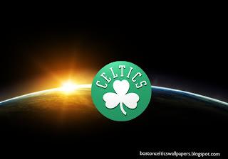Desktop Wallpapers Boston Celtics Front Logo at Space Eclipse Desktop wallpaper