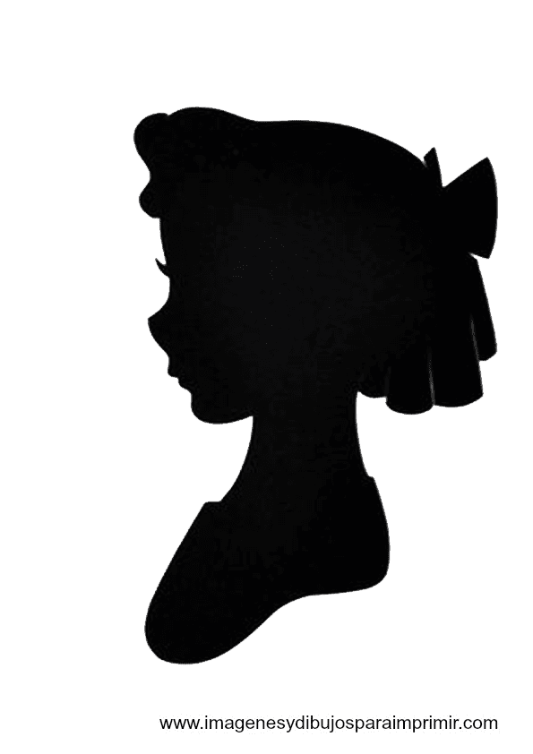 Terrible image in free printable disney silhouettes