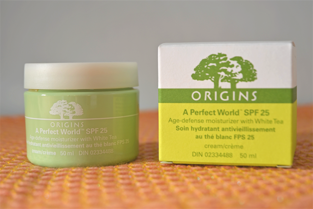 origins a perfect day age-defense moisturizer spf 25 with white tea review beauty review